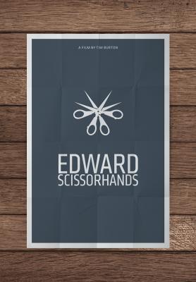affiche edward aux mains d'argent