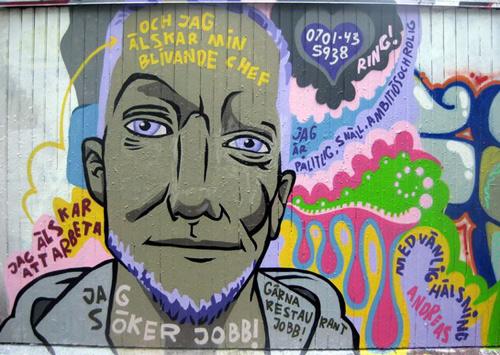 graffiti CV Andreas