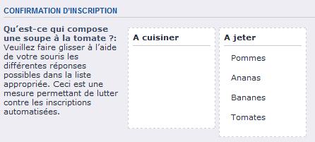 spam-recette