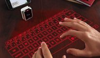 clavier hologramme
